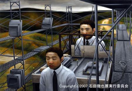 اغرب اللوحات اليابانيه Tishida25